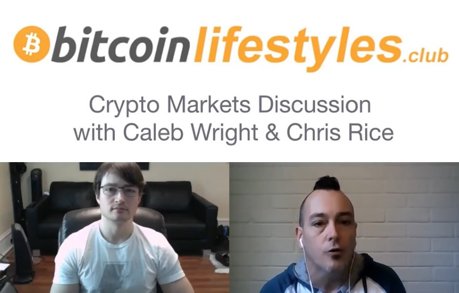 How To Generate Wealth Through The Crypto Markets with Caleb Wright, hosted by Chris Rice