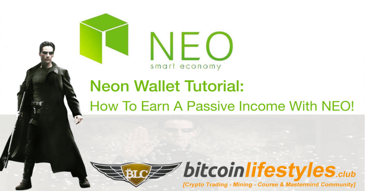 Neon Wallet Staking Tutorial: Earn A Passive Income With NEO