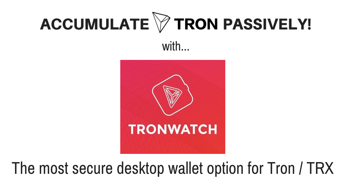 How To Use Tron Power To Earn TRX Passively Part 2 [TronWatch Wallet]
